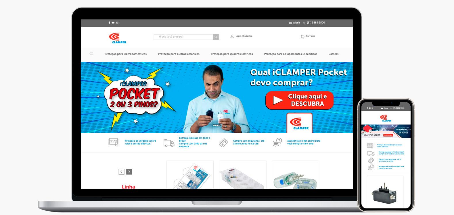 Portfolio Sirius Digital - Clamper
