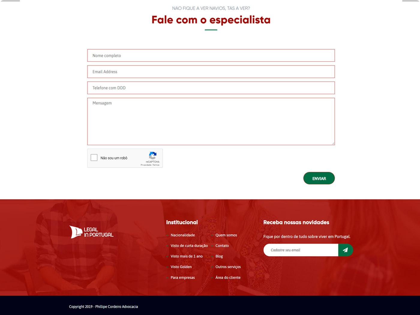 Portfolio Sirius Digital - Legal in Portugal